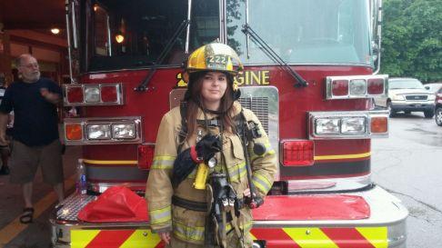 Firefighter Nicole
