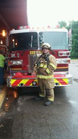 Firefighter Tim